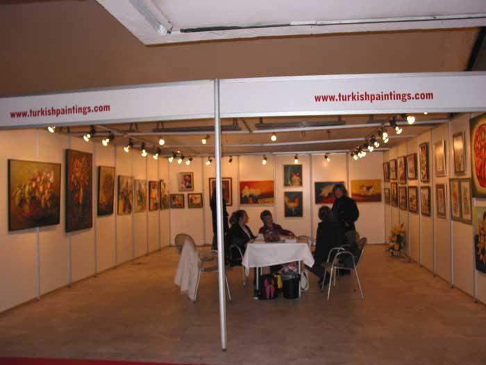 Turkish Paintings Com standı