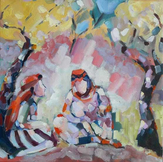 Untitled - Eser Detay - Turkish Paintings